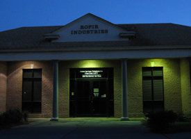 USTC Offices at Night